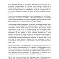 Laudatio d'Antoni Castells sobre Pasqual Maragall al Premi Canigó 2012 de la Universitat Catalana d'Estiu.