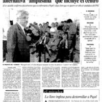 """Maragall se presenta como el líder de una alternativa """"amplísima"""" que incluye el centro"""