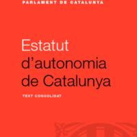 Estatut d'autonomia de Catalunya: text consolidat (2012)